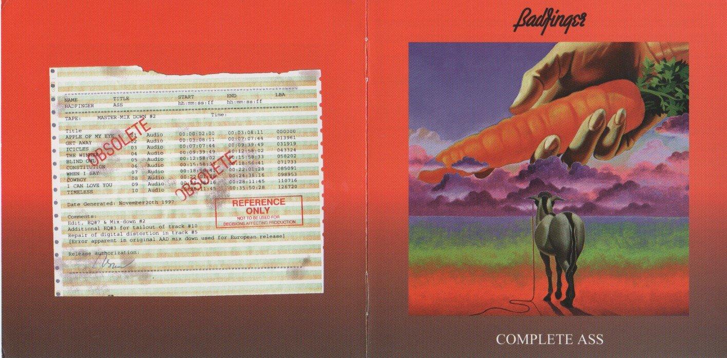 Badfinger CD - Complete Ass