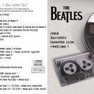 Beatles CD - Barrett Cassette Dubs Vol. 3 She Loves You