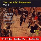 Beatles CD - Let It Be Rehearsals Vol 1 The Complete Rooftop Concert