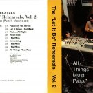 Beatles CD - Let It Be Rehearsals Vol 2 All Things Must Pass Part 1 Electric Set