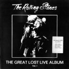 Rolling Stones CD - Great Lost Live Album