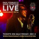 PAUL STANLEY CD - SOUL STATION PASADENA 2016 Kiss