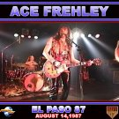 Ace Frehley CD - EL PASO 87 - Kiss