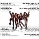 Kiss CD - RARITIES 70 - 80