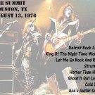 KISS CD - The Summit Houston 1976-08-13