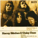 KISS CD - Horny Bitches & Daisy Daze - New York 73