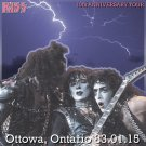 KISS CD  - Ottawa, Ont - 01-15-83