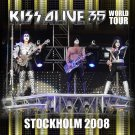 KISS CD - STOCKHOLM 2008