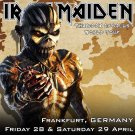 Iron Maiden CD - Frankfurt Germany 2017