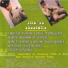 Elvis Presley CD - '58 sessions