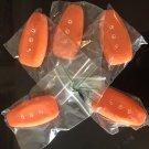 Fiesta mk7/7.5 silicone keyfob cover orange