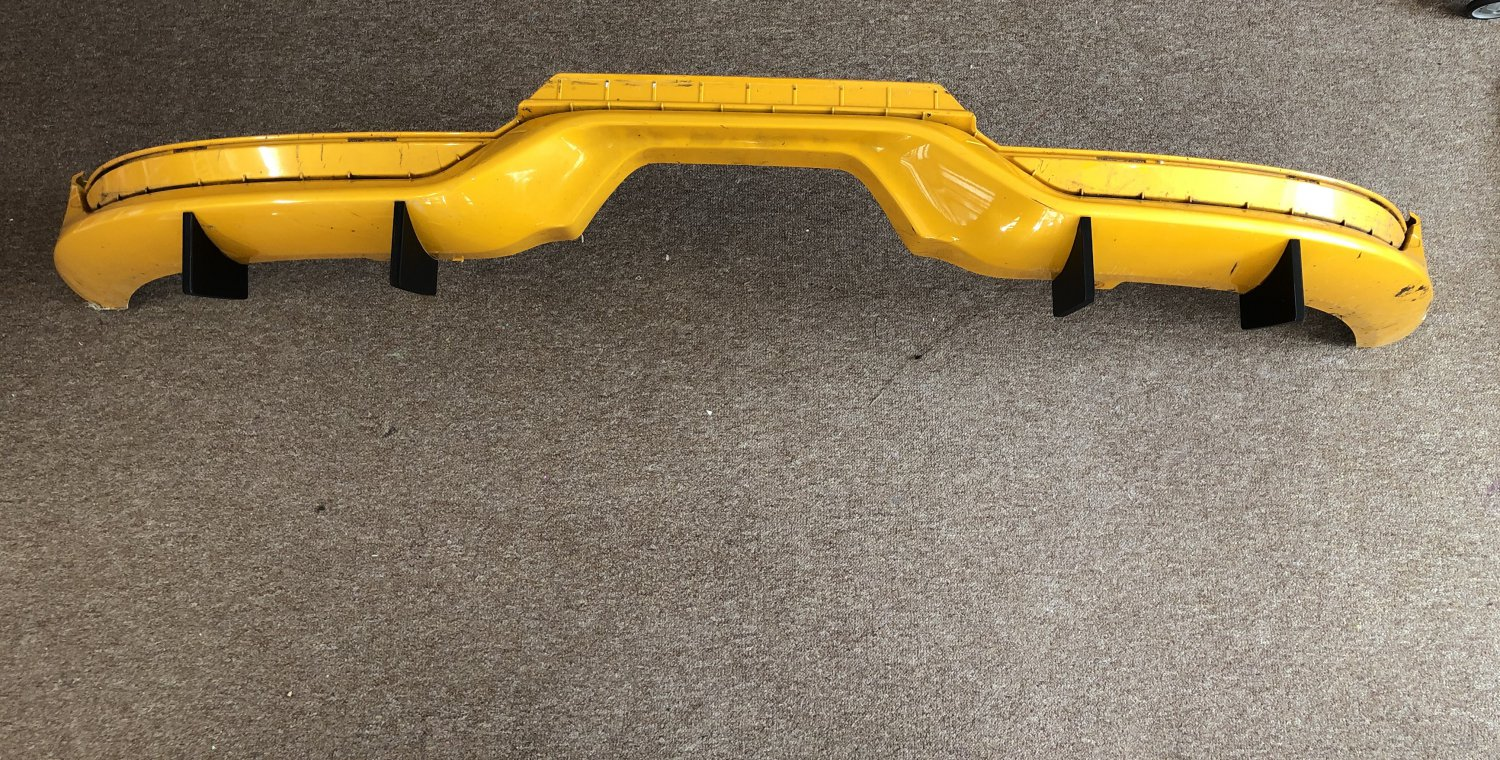 Ford Focus ST Fins Kit 4 Piece many colours