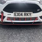 Fiesta st180 V2 lower grille covers Many colours