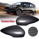 Ford Fiesta mk7/7.5 carbon side view mirror covers pair