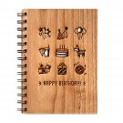 Rajasthan Handmade Collection Laser Wooden Diary