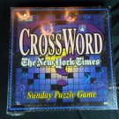 CROSSWORD ..THE NEW YORK TIMES..SUNDAY PUZZLE GAME