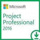 Microsoft Project Professional 2016 - Genuine - 32/64 Bit