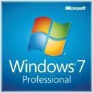 Microsoft Window 7 Professional OEM Key - Digital Download - Genuine - 32/64 Bit