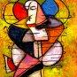 """ACEO Art Card """" Gypsy dancer """""""