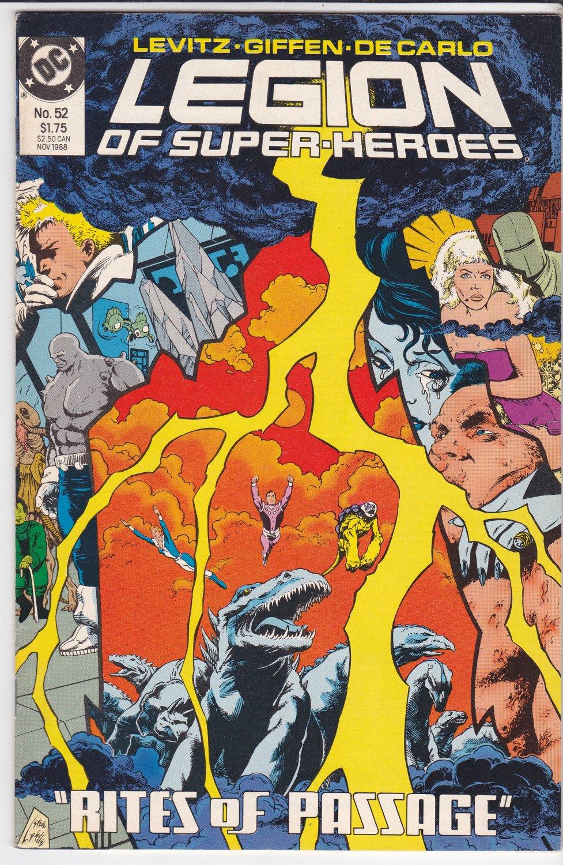 Legion of Super-Heroes #52