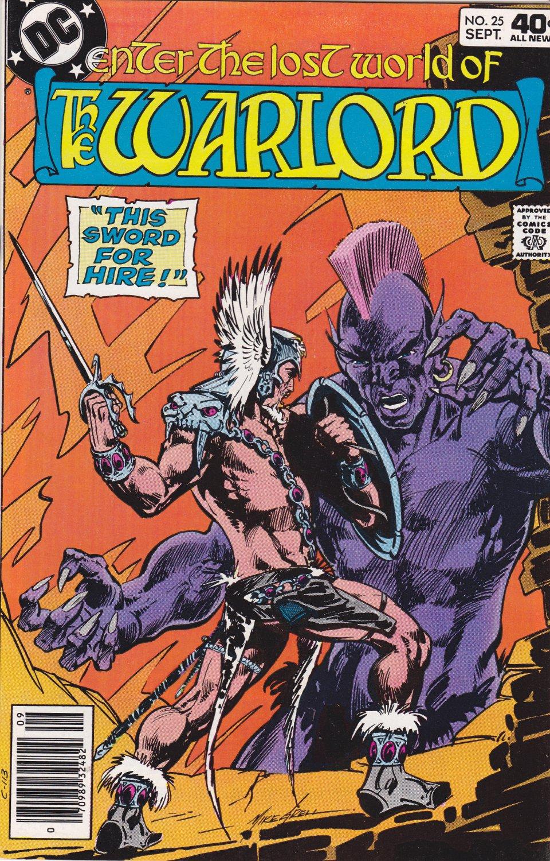 Warlord #25