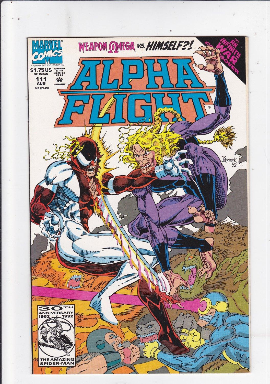 Alpha Flight #111
