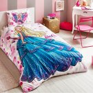 DISNEY PRINCESS DREAM CARTOON CHARACTER SINGLE TWIN 100% COTTON DUVET COVER QUILT COVER BEDDING SET