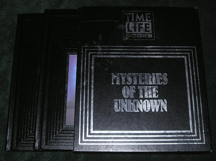 Mysteries Of The Unknown Book Set HB With Display Box Paranormal & Phenomenon