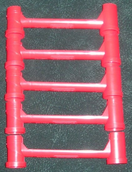 5 Red Bridge Parts Super Marble Run By Quercetti Intelligent Toys