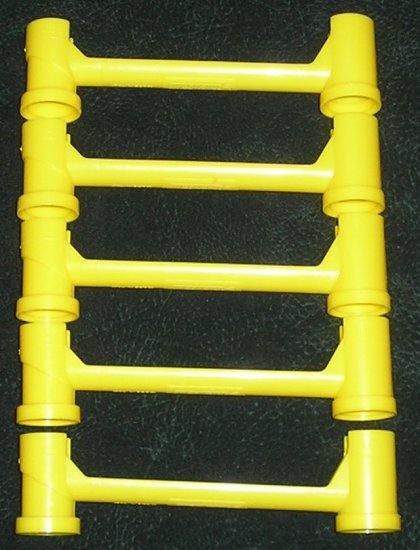5 Yellow Bridge Parts Super Marble Run By Quercetti Intelligent Toys