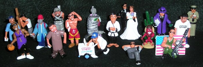 Homies 17 Mini PVC Collectible Figures