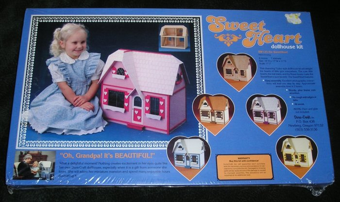 Old Sweetheart Dollhouse Kit SW125 From 1985 By Dura-Craft Sealed NEW