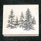 Rubber Stamp Mounted On Wood Stand Of Pine By Inkadinkado 96488 DD