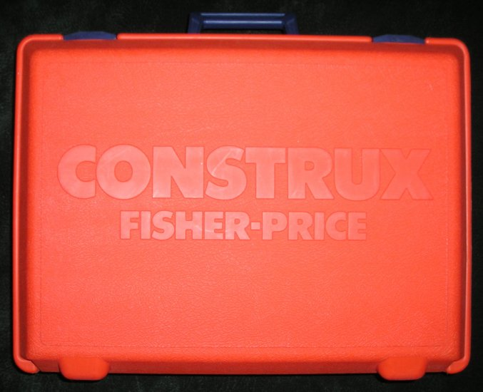 Construx Giant Orange Storage Case By Fisher Price