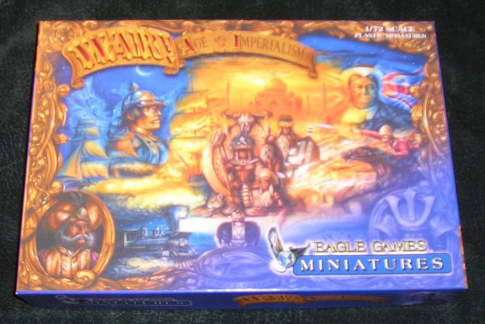 War Age Of Imperialism Miniatures By Eagle Games New