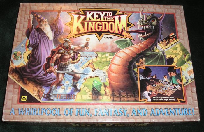 Key To The Kingdom Board Game Complete By Golden 1992 Collectible