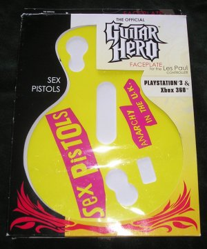 Guitar Hero Sex Pistols Les Paul Faceplate For Playstation 3 & Xbox 360