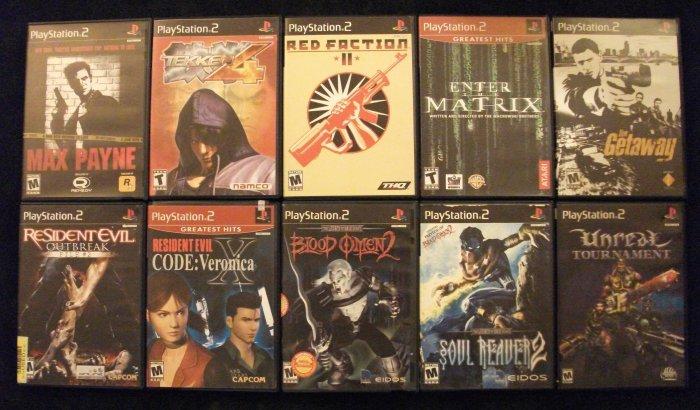 10 PlayStation 2 Games Soul Reaver 2, Resident Evil, Tekken, Unreal And More