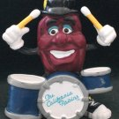 Rare Califonia Raisin PVC Figure Drummer By Applause