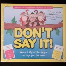 Don't Say It! Board Game