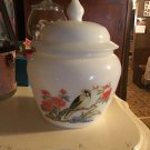 Avon 1983 Milk Glass Ginger Jar
