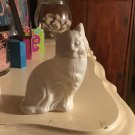 Avon 1972 Kitten Little Milk Glass Decanter