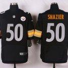 Men's Pittsburge Steelers #50 Ryan Shazier Elite Stitched Jersey Black