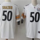 Men's Pittsburge Steelers #50 Ryan Shazier Game Stitched Jersey White