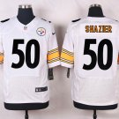 Men's Pittsburge Steelers #50 Ryan Shazier Elite Stitched Jersey White