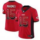 Men's Kansas City Chiefs #15 Patrick Mahomes II RedStitched Jersey Drift Fashion
