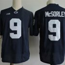 Men's Penn State Nittany Lions #9 Trace McSorley Navy College Football Stitched Jerseys