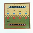 Axis & Allies WWII Battle Board Only Milton Bradley 1984