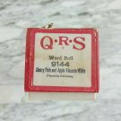 QRS 9144 Cherry Pink and Apple Blossom White Sid Laney