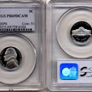 1997-S Proof Jefferson Nickel PCGS PR69DCAM * FREE SHIPPING *